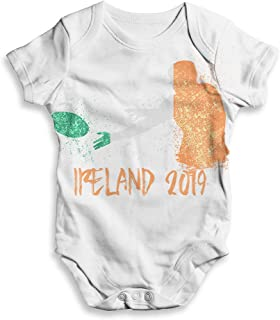 TWISTED ENVY Funny Baby Clothes Rugby Ireland 2019