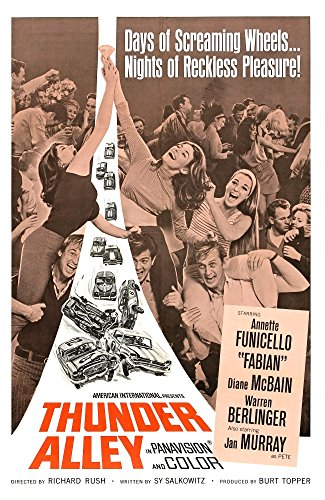 Thunder Alley 1967 Movie Poster Masterprint (11 x 17)