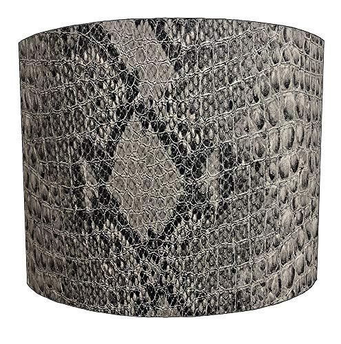 8 Inch slang huid print Ontwerp Lampenkap Voor een Plafond Licht
