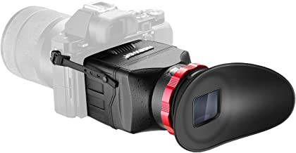 Neewer S7 3-in-1 Pro Optical Viewfinder,Screen Protector,Sunshade Hood with 3X Magnification for Sony A7RII, A7II, A7, A7R, A7M2, A7R2, A7M3, A7R3, A7s, A7s2, A7s3 and Other DSLRs with 3