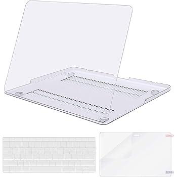 MOSISO Funda Dura Compatible con MacBook Pro 13 Retina A1502 / A1425 (Versión 2015/2014/2013/fin 2012), Carcasa Rígido & Cubierta de Teclado (USA Versión) & Protector de Pantalla, Cristal