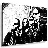 Metallica - James Hetfield Kunstdruck / Bild 100x70cm /