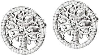 Morellato Orecchini da donna, Collezione Albero Della Vita, in Argento 925, Cristalli - SATB02