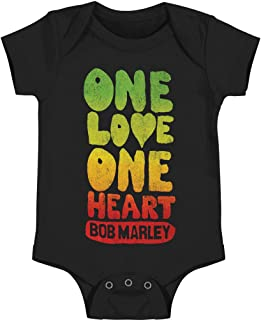 One Love Heart Baby Infant Snapsuit Romper