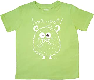 Adorable HEE Eee Monster Toddler T-Shirt - Blue Fish Tales
