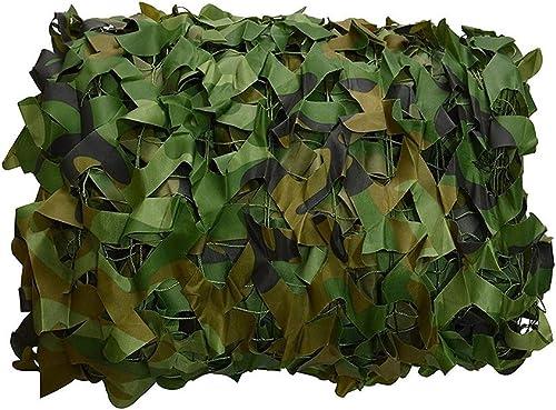 ALGFree Voiles D'ombrage Filet De Camouflage Extérieur Photographie Aérienne Filet De Camouflage Filet D'ombrage Décoration D'intérieur De Jeux D'ombre Survie (Couleur   Vert, Taille   6x8m)