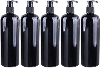 Mobestech Plastic Soap Pump Bottle Empty Liquid Dispenser 500ml Countertop Hand Lotion Bottle Sink Soap Dispenser for Kitc...