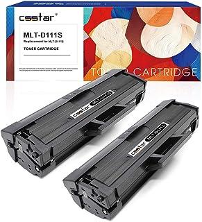CSSTAR Compatible Cartuchos de Tóner Reemplazo para Samsung 111S MLT-D111S para Xpress SL-M2070W SL-M2022W SL-M2020W SL-M2026W SL-M2070FW SL-M2078W SL-M2020 SL-M2022 SL-M2026 SL-M2070 Impresora, Negro