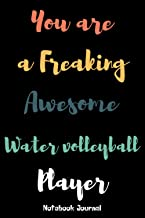 Water volleyball Player Notebook Journal: Water volleyball Player Notebook journal gift, blank lined journal, keepsake jou...