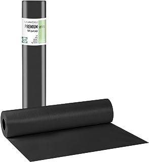 Tegcare Aerzteroll Hygiene Rolls 2-Ply (50 cm x 50 m, Black) 700 g