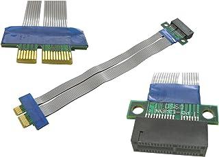 Kalea Informatique - Cable de extensión PCI-E (1x, largo total: 190 mm)