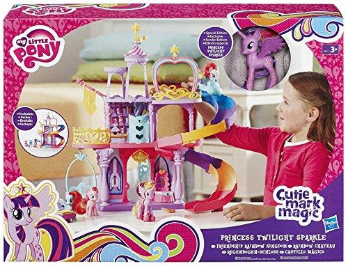Hasbro A8213EU6 - My Little Pony Regenboog Kasteel, Mehrfarbig