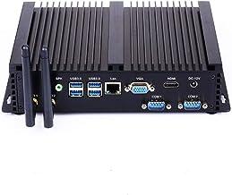 Fanless Industrial PC,Mini Computer,Windows Mini PC,Intel Core i5 7200u,[SNWELL N3],(Dual WiFi/1VGA/1HDMI/3USB2.0/4USB3.0/1LAN/2COM)