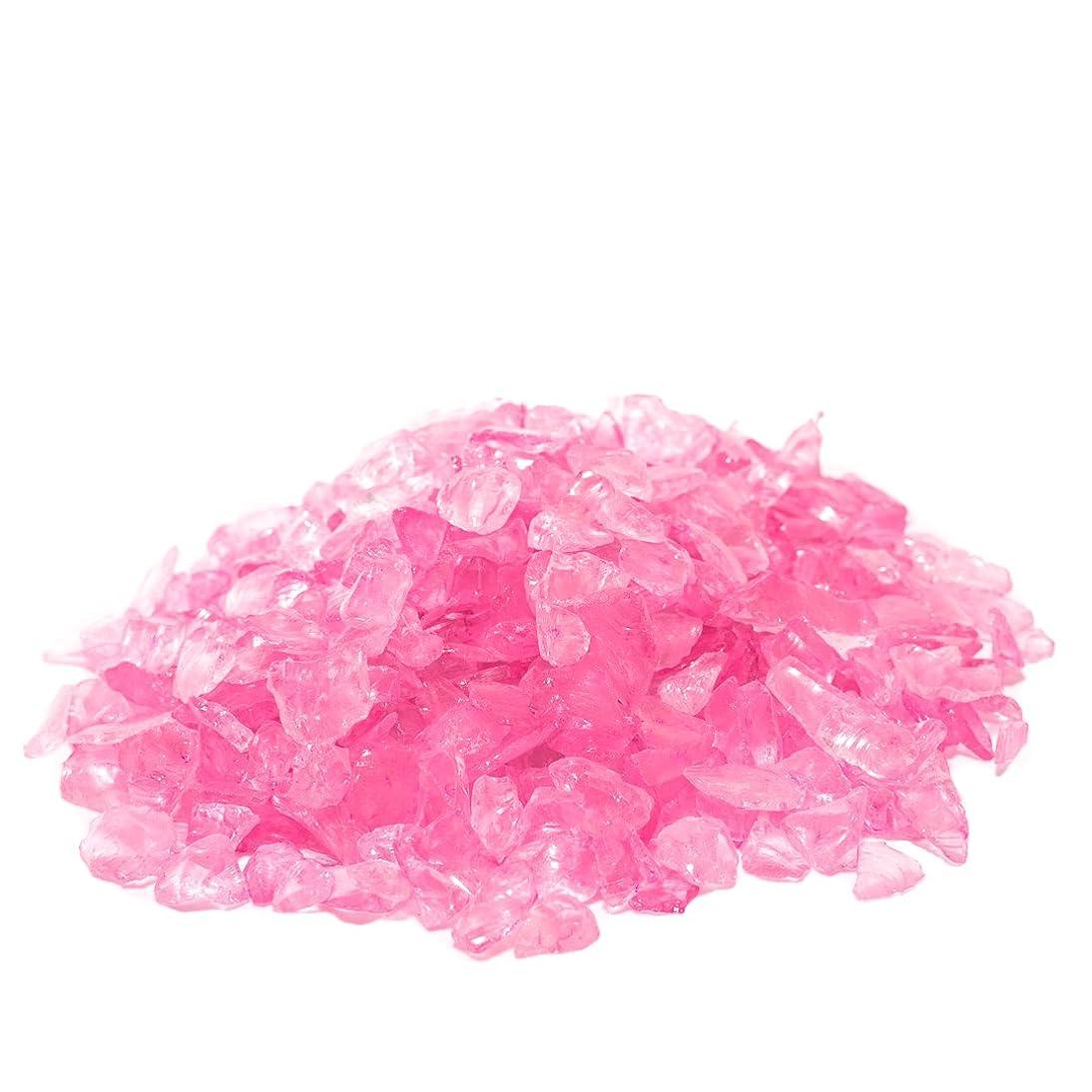Super Moss Sea Glass Vase Filler, Pink (2 Pounds)