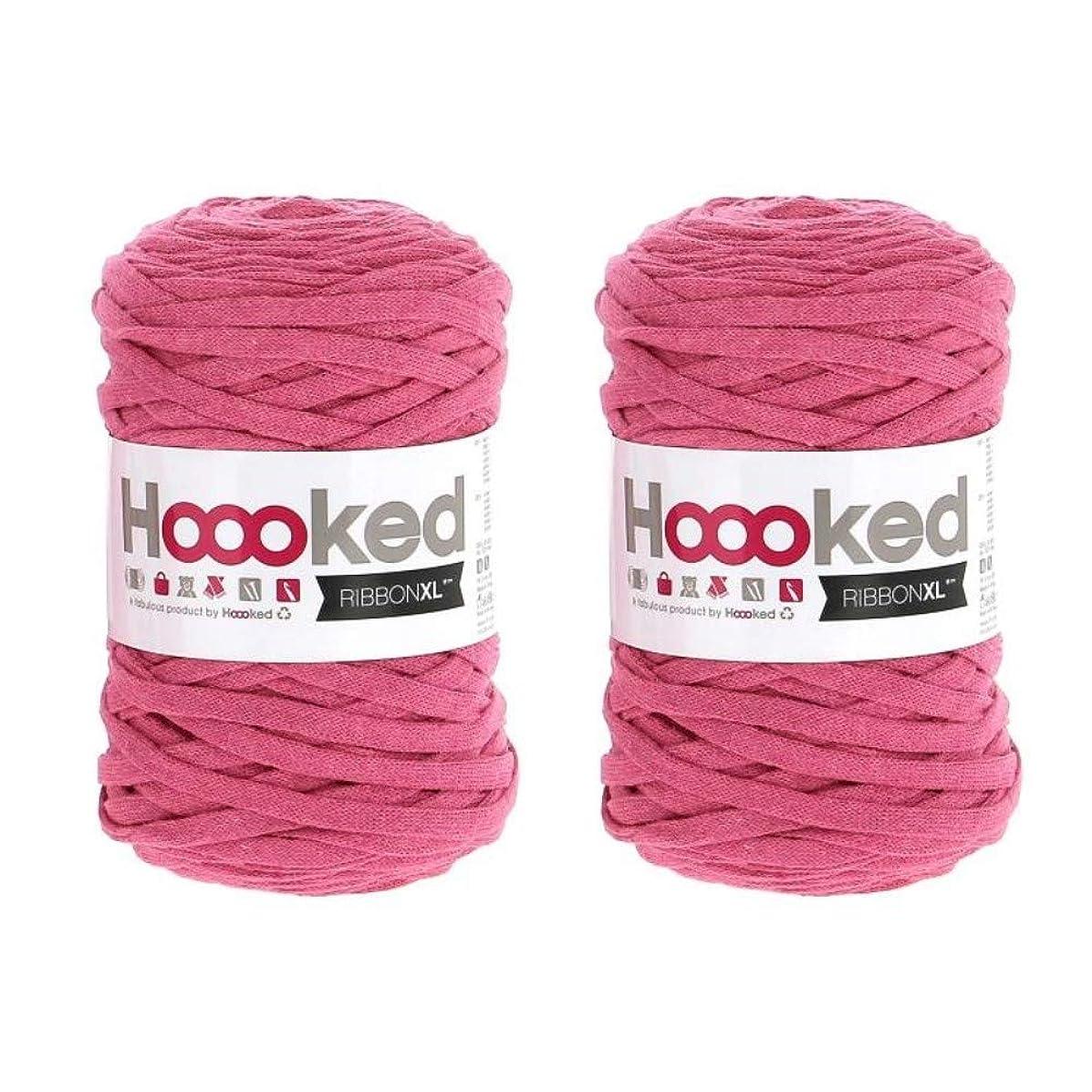 Hoooked Ribbon XL Yarn (2 Pack) - Bubblegum (RXL 27)