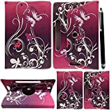 10inch Tablet Case Cover - Universal Leather Stand Case