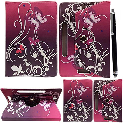 10inch Tablet Case Cover - Universal Leather Stand Case Folio Cover Magic...