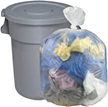 Cand 30 Gallon Clear Large Trash Bags, 70 Counts