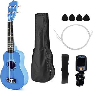 21 بوصة أطفال خشبية UKulele 4 سلسلة آلة الغيتار المحمولة للأطفال اختيار معدات الغيتار الصغيرة