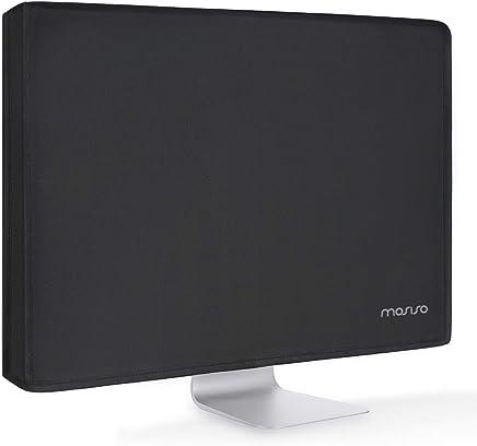 MOSISO Monitor Poliéster Polvo Funda 26, 27, 28, 29 Pulgadas Panel de LCD/LED/HD Antiestático Pantalla de Protectora Compatible 26-29 Pulgadas iMac,PC,Computadora de Escritorio y TV, Negro