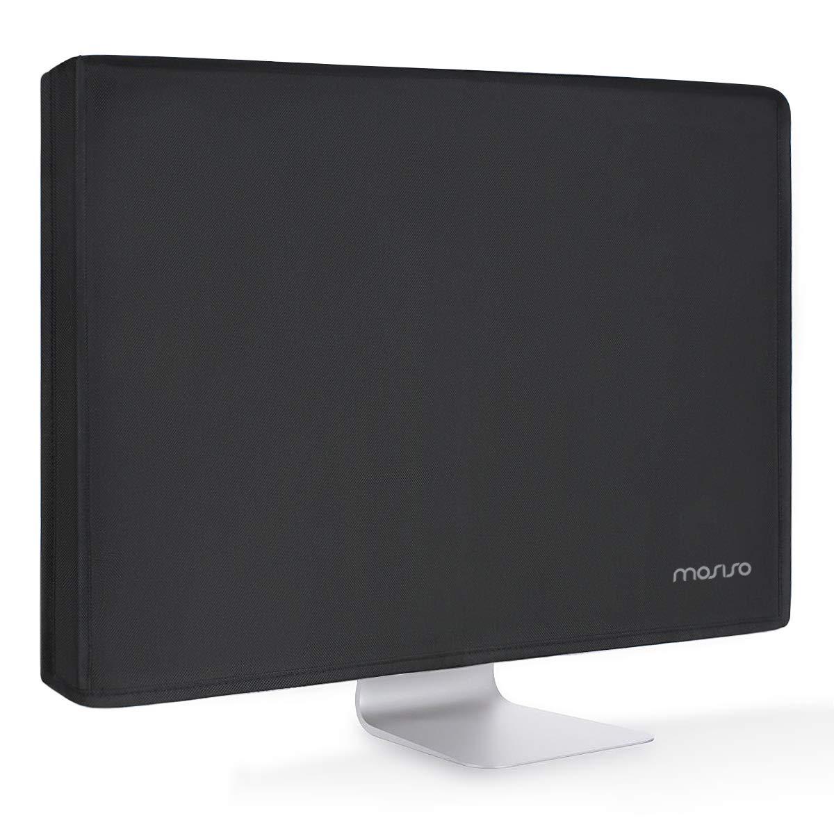MOSISO Monitor Polvo Funda 22, 23, 24, 25 Pulgadas Panel de LCD/LED/HD Antiestático Pantalla de Protectora Compatible con 22-25 Pulgadas iMac,PC,Computadora de Escritorio y TV, Negro: Amazon.es: Electrónica