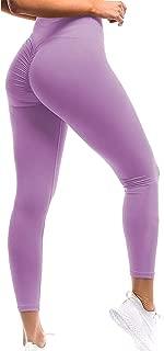 Women Scrunch Butt Yoga Pants Leggings High Waist Waistband Workout Sport Fitness Gym Tights Push Up