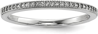 ICE CARATS 925 Sterling Silver Cubic Zirconia Cz Band Ring Size 7.00 Wedding Fancy Fine Jewelry Ideal Gifts For Women Gift Set From Heart
