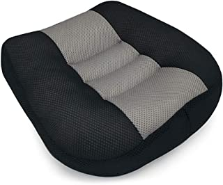 AKDSteel Car Seat Cushion Heightening Height Boost M-a-t Portable Breathable Driver Booster Seat Pad Black/Grey 40 * 40 * ...