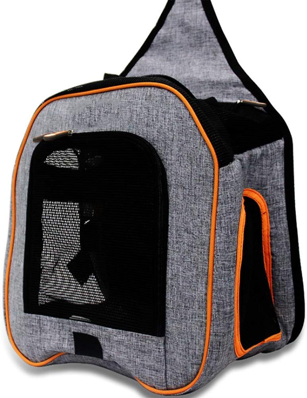 Pet Backpack Airline Approved Pet Carriers, Shoulder Strap Breathable Portable Dog Bag cat cage, Designed for Travel, Outdoor Use