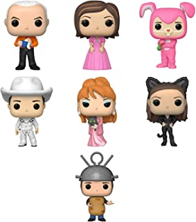 Funko Pop! Marvel: Luchadores - Deadpool Funko Pop Movies: IT-Eddie with Broken Arm Collectible Figure, Multicolor Funko Pop! TV: The Office - Michael Scott Funko Pop! TV Set of 7 - Friends: Gunther, Rachel in Pink Dress, Chandler as Bunny, Cowboy Joey, Music Video Phoebe, Monica as Catwoman and Ross as Sputnik