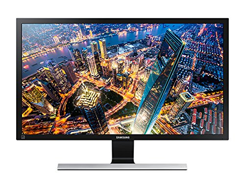 Samsung LU28E590DS/XL 28-inch UHD LED Backlit Computer Monitor (Black/Metallic Silver)