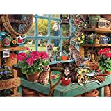 YINXN Jigsaw Puzzles for Adults 1000 Piece Puzzles for Adults 50x70cm Fun Library Jigsaws for Adults Curious...