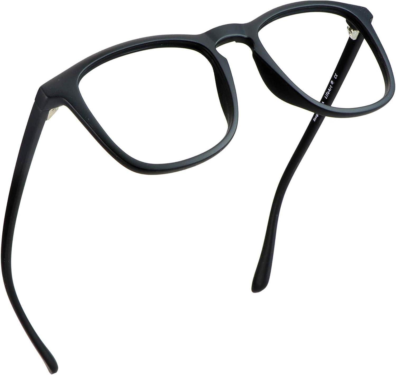 LifeArt Blue Light Blocking Glasses, Anti Eyestrain, Computer Reading Glasses, Gaming Glasses