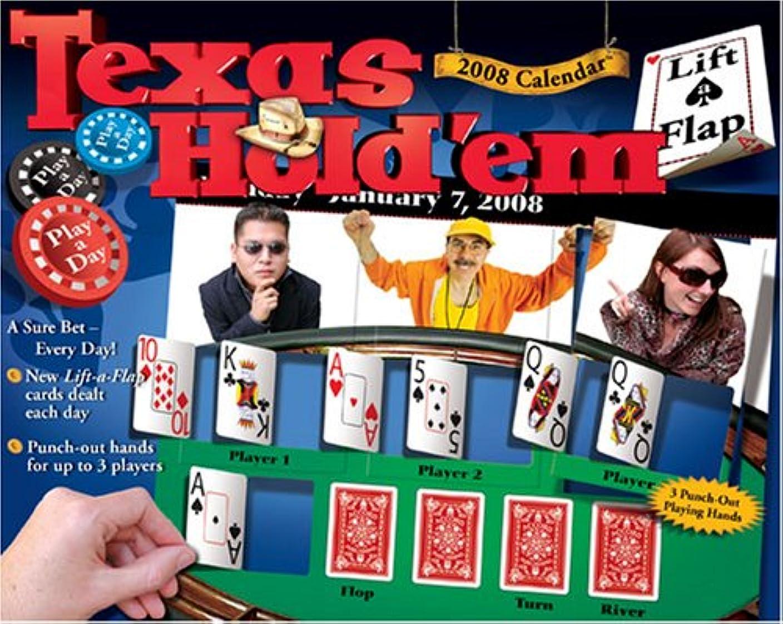 解明する終わり悲鳴Texas Hold'em Lift-a-Flap: 2008 Day-to-Day Calendar (Lift-A-Flap Calendar)