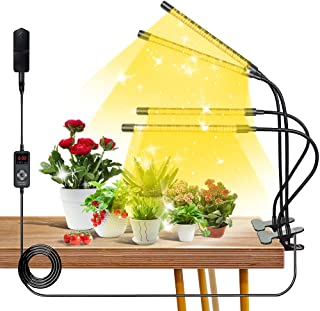 Led Grow Light for Indoor Plants, 85W 264Led 4 Switch Modes 9 Dimmable Levels 3 6 9 12H Timer Adjustable Plant Light with ...