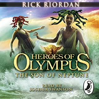 The Son of Neptune     The Heroes of Olympus, Book 2              By:                                                                                                                                 Rick Riordan                               Narrated by:                                                                                                                                 Joshua Swanson                      Length: 13 hrs and 28 mins     112 ratings     Overall 4.8