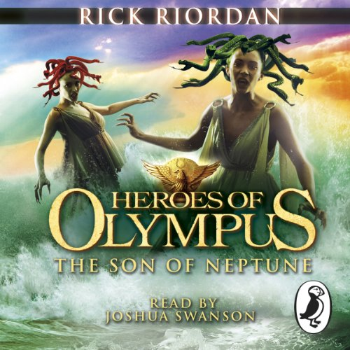 The Son of Neptune audiobook cover art