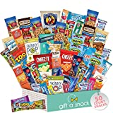 🍭 A PRESENT TO SPREAD THE JOY: Whether you're looking for snack boxes for adults, care packages for college students, a snack variety pack for kids, or simply a crave box to treat yourself, our Snack Box Variety Pack will do the trick. Ours is a pres...