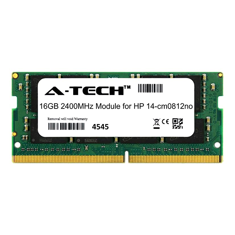 A-Tech 16GB Module for HP 14-cm0812no Laptop & Notebook Compatible DDR4 2400Mhz Memory Ram (ATMS378971A25831X1)