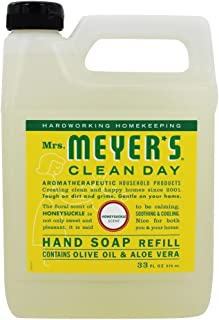 Mrs. Meyers Liquid Hand Soap Refill Honeysuckle, 33 Fl Oz