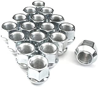"AVN Motorsports 9/16 Chrome O.E. Bulge Acorn Open End Lug Nuts 3/4"" Hex (9/16-18 Thread Size) .84"" Tall (20)"