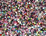 Assorted Beads, Loose Beads for Craft, Bracelet DIY Projects, Beading Kit, Tons of Different Kinds of Beads, Jewelry Making Kit (3/4 Pounds of Assorted Beads)