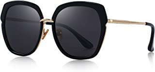 OLIEYE Vintage Oversized Women's Polarized shield Frame Sunglasses O6371