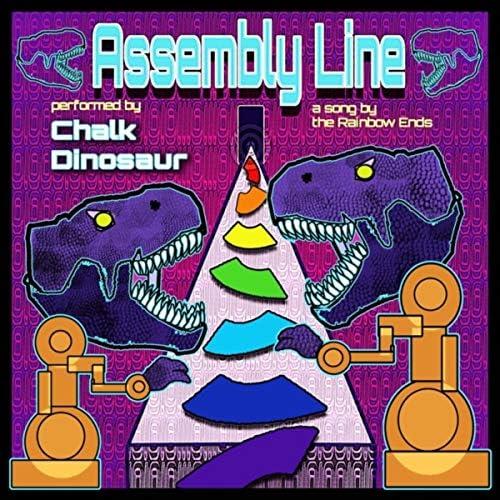 The Rainbow Ends & Chalk Dinosaur