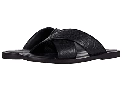 Salvatore Ferragamo Sion 2 Sandals (Black) Men
