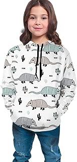 Girls & Boys Long Sleeves Hoodies Pullover Sweatshirt Slim Tunic Top Blouse