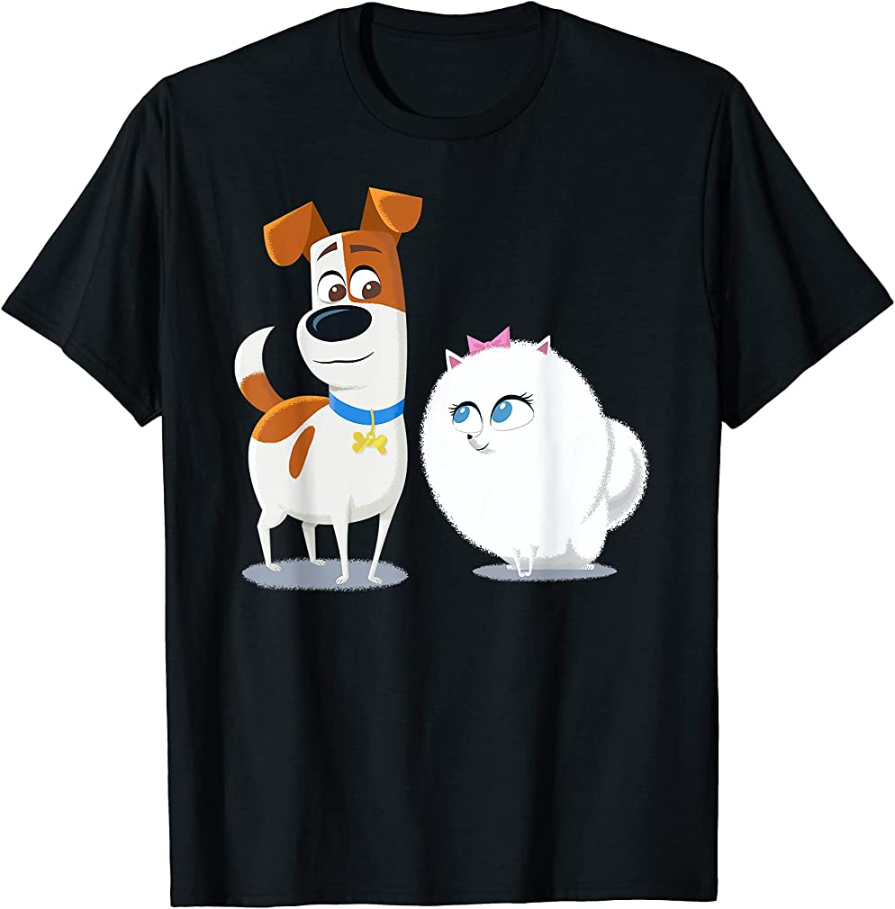 Amazing - The Secret Life Of Pets 2 Max And Gidget Fluff Love T-shirt Gift For Fan