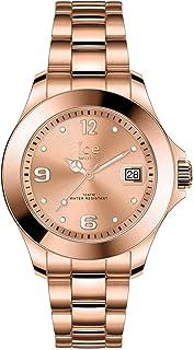 Ice-Watch - Ice Steel Rose-Gold - Montre Rose-Gold pour Femme avec Bracelet en Metal - 017321 (Small)