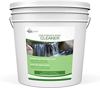 Aquascape 98896 SAB Stream & Pond Cleaner Pond Water Treatment, 7-Pound, White