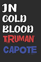 In cold blood truman capote: The college ruled a blank lined composition notebook, Notebook for gift, journal, notebook fo...